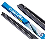 RAIN-RH Windshield Wiper, Water Repellent Wiper blade 100% Silicone Hybrid flame 22inch(Pack of 1)