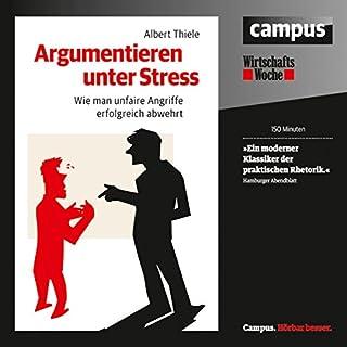 Argumentieren unter Stress Titelbild