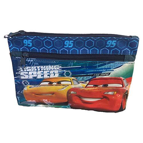 TOMBOLINO Cars Saetta McQueen Cruz Ramirez PORTACOLORI 1 Cerniera Disney Pixar CM 24X15 -...