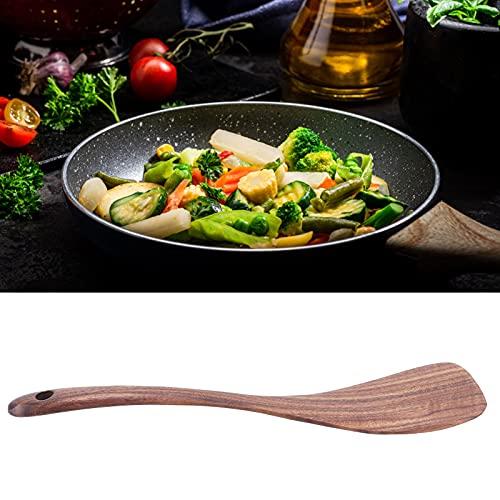 Pala antiadherente, almacenamiento conveniente Espátula de madera Espátula antiadherente Fácil de operar con diseño de orificio para colgar para cocina para restaurante