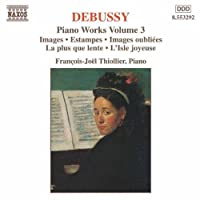 Piano Works 3 by DEBUSSY (1997-06-10)
