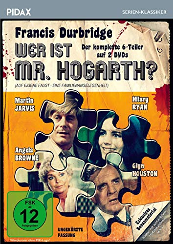 Francis Durbridge: Wer ist Mr. Hogarth? (2 DVDs)