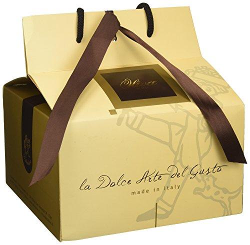Oliva Panettone Mandorlato in Valigetta Shopper - Confezione da 2 Pezzi x 750 gr