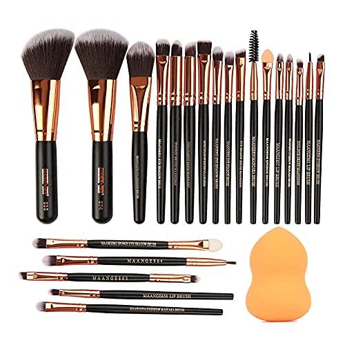 Make-up-Pinsel asas Make-up-Pinsel-Set Professionelle 24-teilige Make-up-Pinsel Premium Synthetic Foundation Brush Blending Gesichtspuder Rouge Concealer Augenkosmetik Make-up-Pinsel-Kits