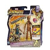 YXCC Marvel Guardiani della Galassia Rocket Raccoon/Tree Man Grout Set Action Figures