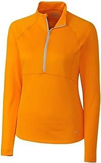 Cutter & Buck Women's CB Drytec Long Sleeve Anastasia Half-Zip