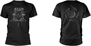 T Shirt Demonic Supremacy Band Logo Official Mens Black
