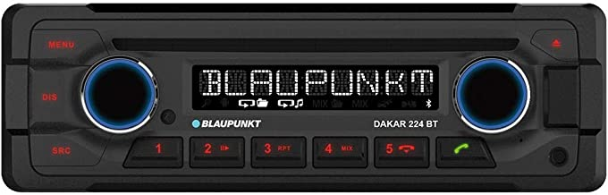 Blaupunkt Dakar 224BT 24V–Radio de Coche con Bluetooth de CD/MP3/USB/iPod/Aux-In