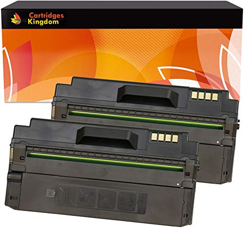 Cartridges Kingdom Pack de 2 Compatibles Cartuchos de Tóner para Samsung ML-1630, ML-1630W, SCX-4500, SCX-4500W