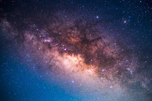Milky Way Galaxy Star Cluster Photo Cool Wall Decor Art Print Poster 24x36