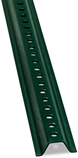 SmartSign U-Channel Sign Post, Medium Weight | 8' Tall Baked Enamel Steel Post - Pack of 1