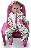 NTUPT Reborn Baby Doll muñecas realistas Baby Toddler 18'Girl...