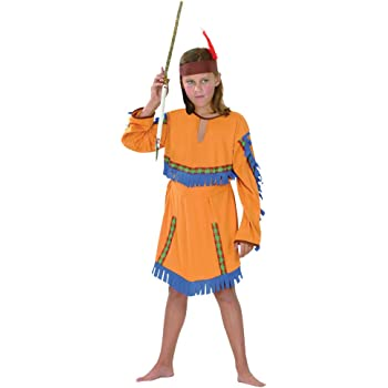 Theme Fancy Dress Disfraz de niña de Indígena India. 3-5 años ...