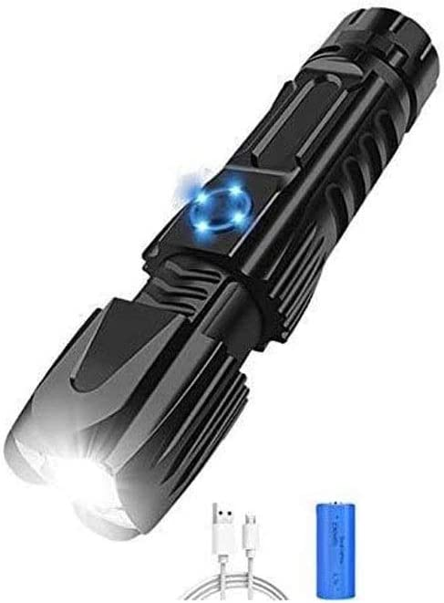 LKNJLL Rechargeable Long-awaited 67% OFF of fixed price Flashlight Super Bright Tactical LED Waterp