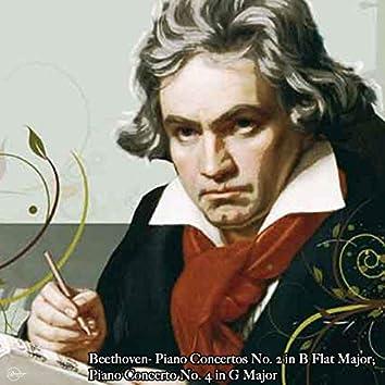 Beethoven- Piano Concertos No. 2 in B Flat Major; Piano Concerto No. 4 in G Major (feat. The Cleveland Orchestra)