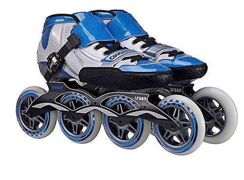 Best Buy! TTYY Adult/Children Inline Skates Roller-Skating Pu-Wheel Straight Street-Trick Upper Alum...