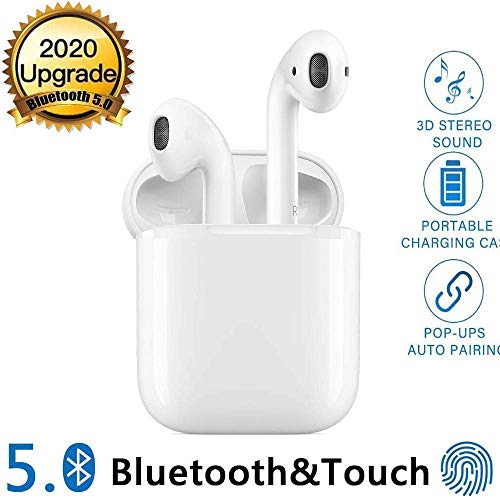 Auriculares Bluetooth 5.0 Auriculares Inalambricos Cascos Bluetooth Headphone...