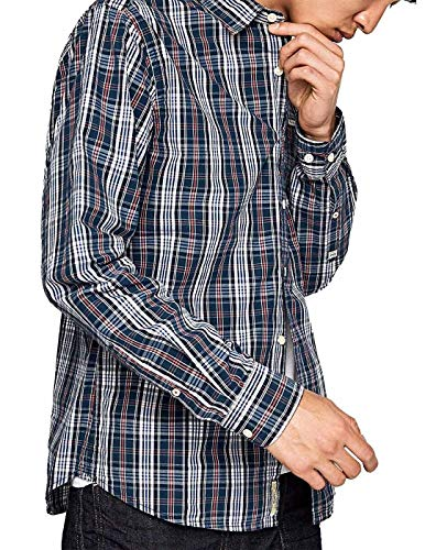 Pepe Jeans Hemd Mann Corbetttinte L Mehrfarbig