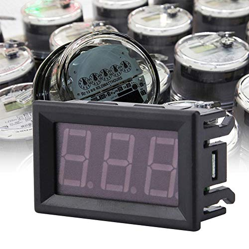 Find Discount DC 5-130V LED Display Voltage Meter 0.56inch Waterproof 2 Wire Digital Voltmeter Multi...