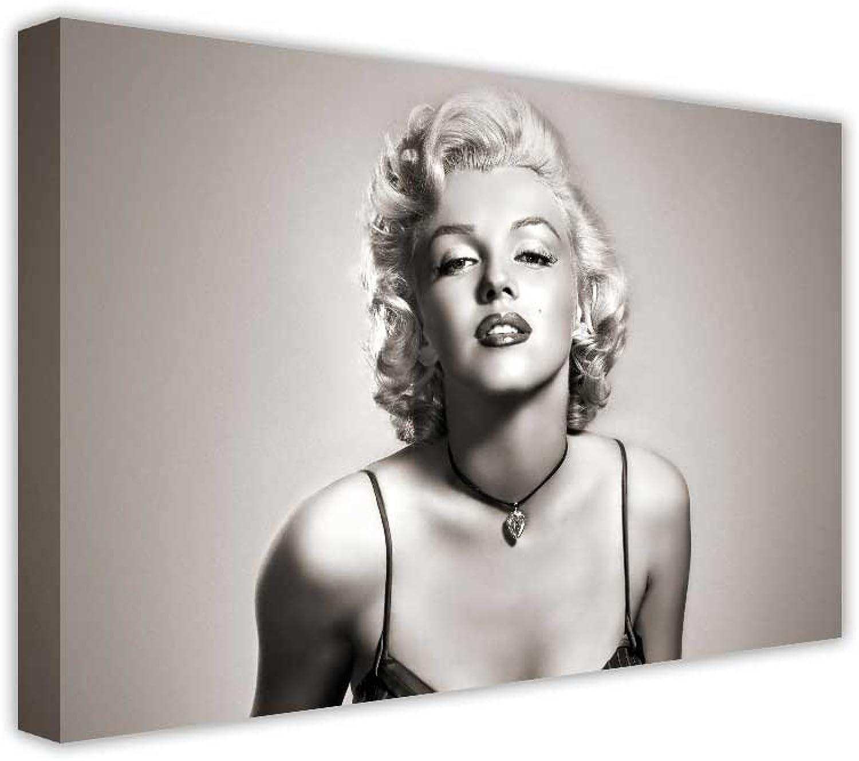 Iconic Maralyn MONROE schwarz und Weißlarge Wall Art Prints Prints Prints auf Leinwand Landschaft Bilder, canvas holz, schwarz   weiß, 60 x 76 cm B00GI0B6KY cbaa12