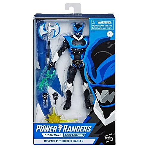 Power Rangers Lightning Collection in Space Psycho Blue Ranger Action Figure (Exclusive)