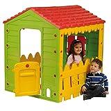 Outdoor Toys KSP69560 - Casita Infantil Granja 119x104,5x126,5 cm