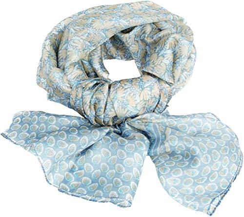 DEVOTA & LOMBA Foulard, Estampado 100% Seda Jaipur, muy comodo y suave al tacto. Presentado en caja de regalo.