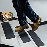 Premium Quality 5 Pieces 6' x 24' Commercial Grade Non Slip High Traction Stair Safety Anti Slip Tape Grip Strong Adhesive