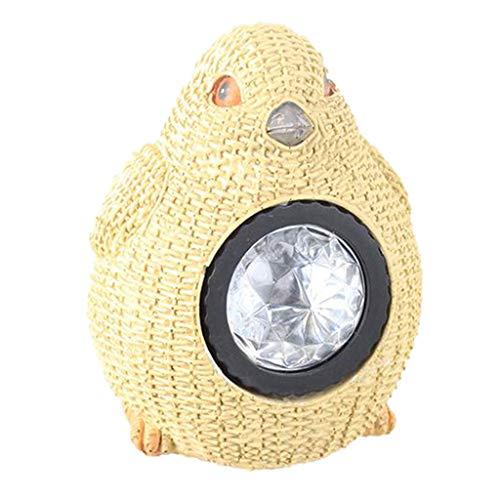 FLAMEER Garten Lampe für Außen Tierfigur Gartenlampe Gartenlampen LED Dekoleuchte - Vogel