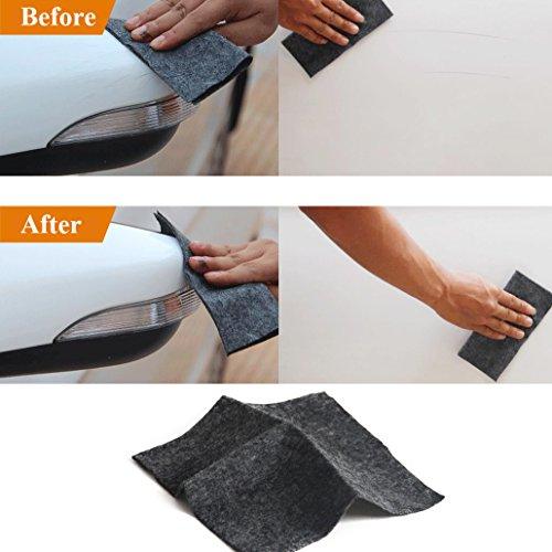 MIKLL Rayure Voiture Réparer Tissu, Nano Technologie, L'expérience S'est Révélée Efficace, Réparation d'éraflure de Voiture Enlèvent L'oxydation