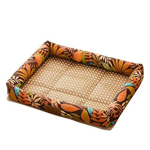 thematys Hunde-Bett I Hundekorb Kratzfest und Reißfest I Haustier-Korb Wasserabweisend I Katzenbett mit viel Platz I Haustierbett Weich (M (41 x 50 cm), Style 16)