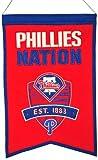 Philadelphia Phillies Wool Nations Banner -