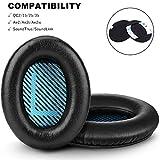Bose QC25 QC15 Headphones Replacement Ear Pads Cushion by GEVO,Memory Foam Pads...