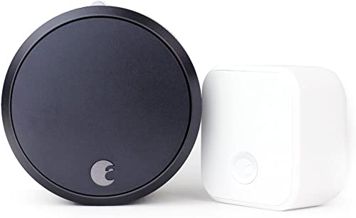 August Smart Lock Pro + Connect, 3rd gen Technology, Works with Alexa, AUG-SL03-C02-G03, 1.5V