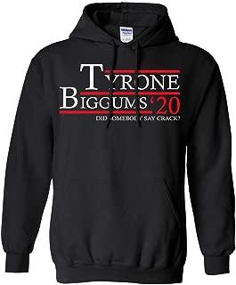 Vintage Clothing 99 Tyrone Biggums 20 Vote for Tyrone Biggums 2020. Did Somebody Say Crack? Pullover Hoodie 8 oz.