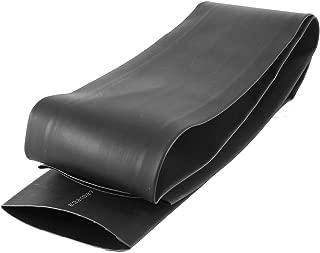Uxcell s14100400am3045 1 Meter 50mm Dia Ratio 2:1 Heat Shrinkable Shrinking Tube Black (Pack of 1)
