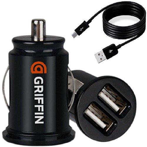 【Day-net】超小型USB 2ポート搭載 USBシガーチャージャー シガーソケット iPhone・スマートフォン充電 カーチャー