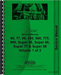 Oliver 88 Tractor Service Manual (Row Crop, Standard and Industrial)