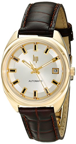Lip Unisex 1872822 GDG Reloj Automático Analógico Automático Japonés Marrón