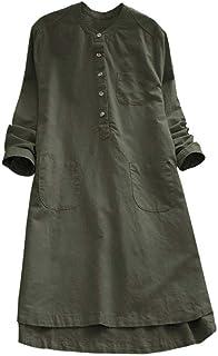 feb9294c76c Amazon.ca  Linen - Dresses   Women  Clothing   Accessories