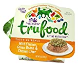 Wellness Trufood Tasty Pairings Natural Grain Free  Wet Raw Dog Food, Chicken, Green Beans & Chicken Liver, 5-Ounce Cup (Pack Of 24)