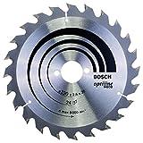 Bosch 2 608 640 615 - Hoja de sierra circular Optiline Wood - 190 x 30 x 2,6 mm, 24 (pack de 1)