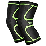 Yosoo Knee Sleeves (1 Pair) Support Gear for Running, Jogging,...