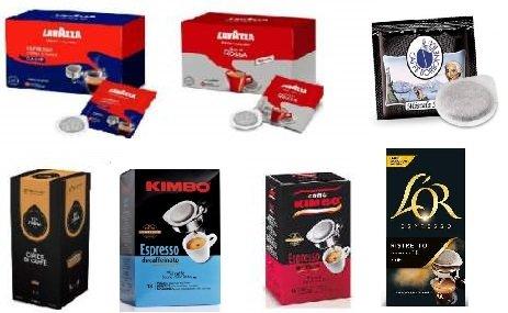 Monodosis Ese Cafés Variados 165 Capsulas 5 Marcas 7 Sabores