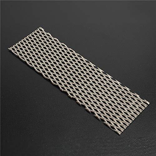 Kungfu Mall - Filtro per elettrolisi in puro titanio, 50 mm x 165 mm