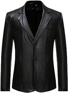 Men's Two Buttons Bronzing Jacket Slim Fit Tuxedo Coat Prom Party Blazer Casual Suit Jacket