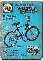 Webco BMX Racing ティンサイン ポスター ン サイン プレート ブリキ看板 ホーム バーために