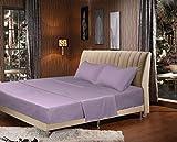 Tache Home Fashion 303-LS-BSS-F 3-4 Piece Sheet Set, Full, Purple