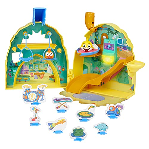 WowWee Baby Shark's Big Show! Shark House Playset – Lights and Sounds Toddler Playset – Interactive Baby Shark Toy