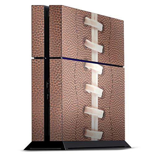 DeinDesign Skin kompatibel mit Sony Playstation 4 PS4 Folie Sticker Fußballer Ball American Football